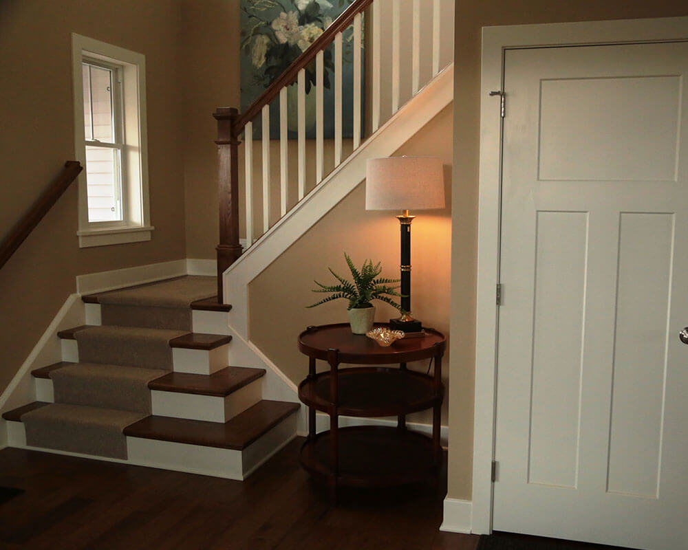 Stairs Railings Wm B Morse Lumber Co Staircase Diagram Classic And Remodeling 1000x800 0017 Stair Craftsman Entirestair