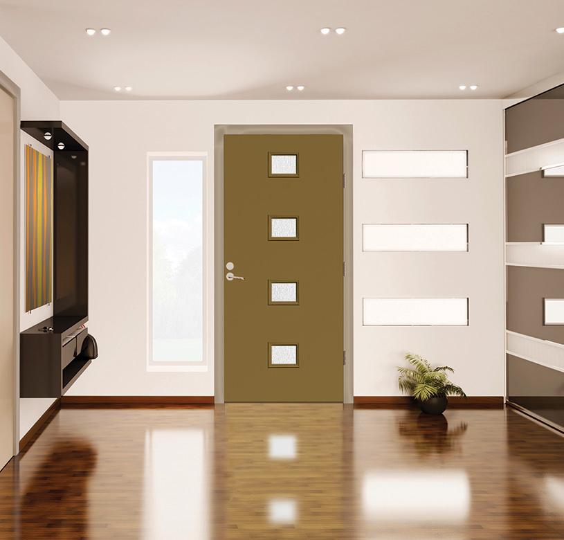 Exterior doors morse lumber for Therma tru pulse